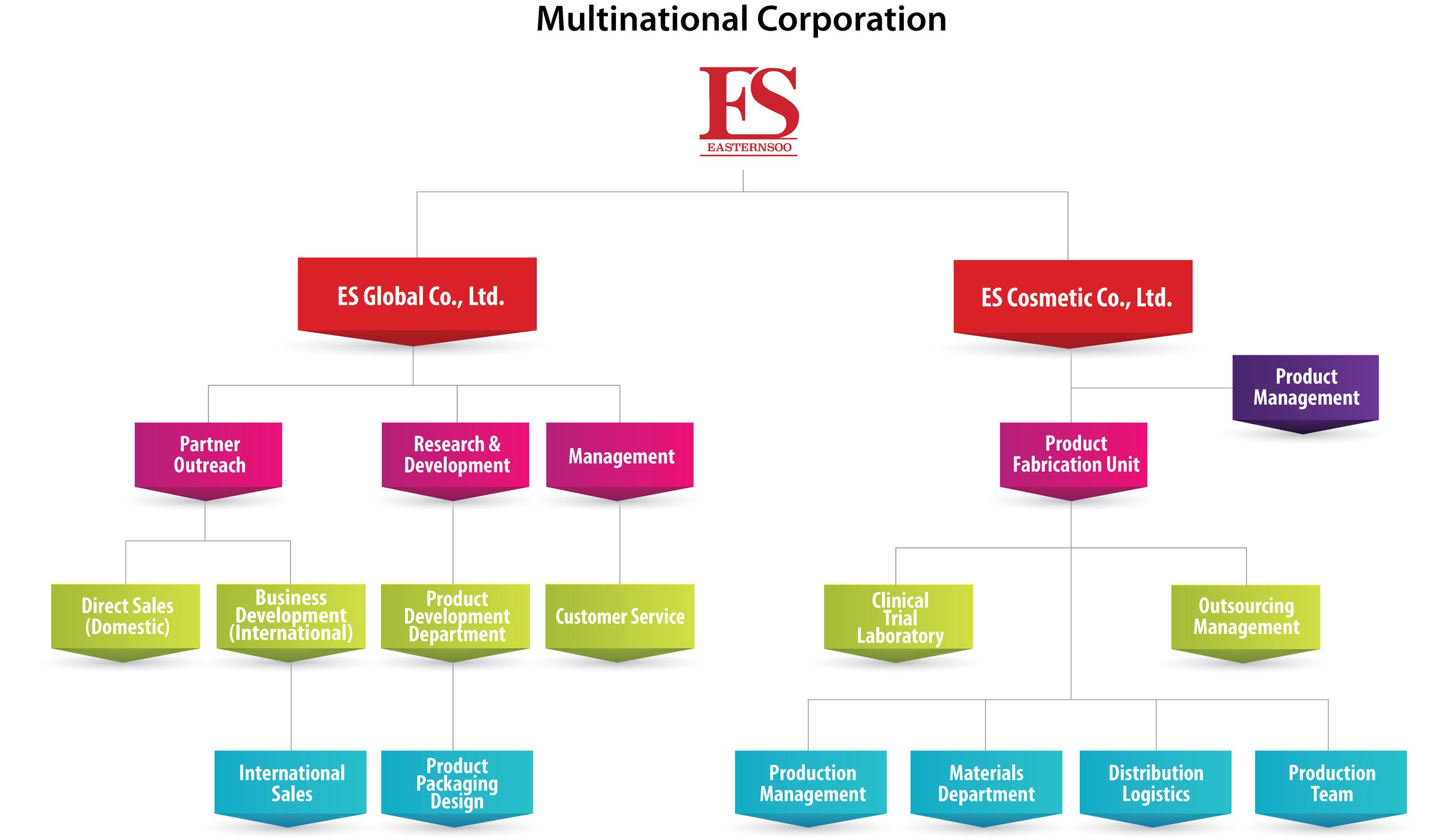 Company Information About Us History Facility Organization Chart